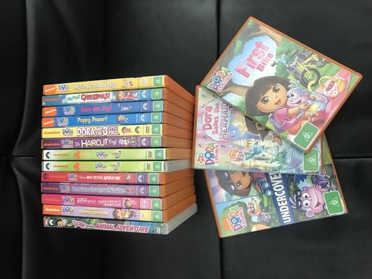 Dora DVD Movie Collection - Australian Classifieds